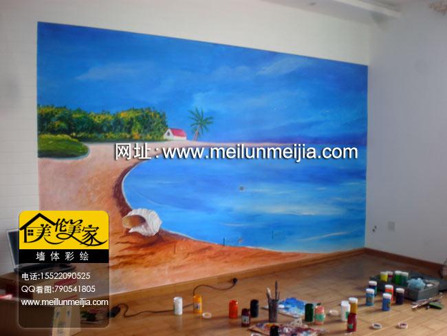 彩绘室内客厅装饰设计天津墙绘天津墙体彩绘天津手绘墙画墙绘素材墙画