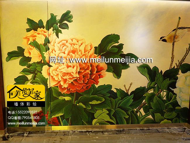 天津北京墙体彩绘墙画装修样板间彩绘体育墙绘运动彩绘店铺商铺商场墙画