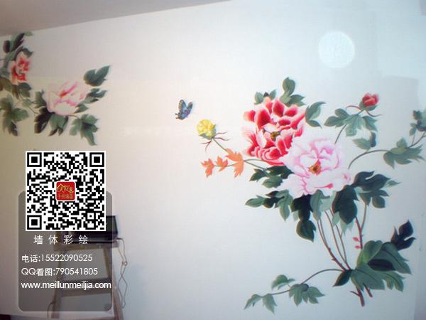 设计案例天津墙绘天津墙体彩绘天津手绘墙画墙绘素材墙画价格室内墙
