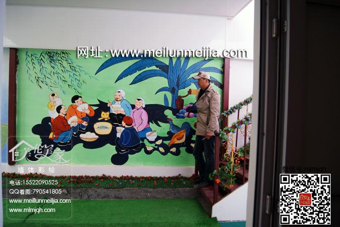 天津美伦美家墙绘艺术讲述手绘墙壁画主题方案家装彩绘| 手绘墙公司| 古建彩绘| 手绘墙图片摄影工作室