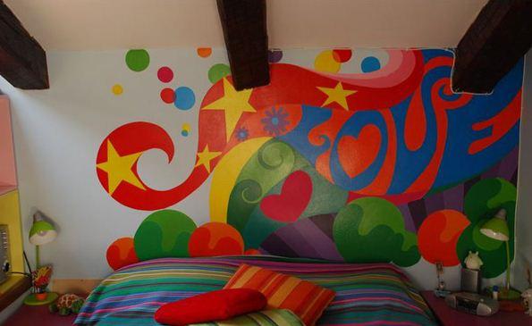 时尚前卫益天津墙绘天津墙体彩绘天津手绘墙画墙绘素材墙画价格室内