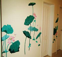 墙绘/墙体彩绘/墙画/手绘墙