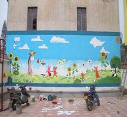 幼儿园墙绘天津墙绘天津墙体彩绘天津手绘墙画墙绘素材墙画价格室内墙图片