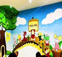 天津幼儿机构墙体彩绘,幼儿园墙体主题绘画,培训中心手绘墙画,学校墙面彩绘,教育墙体绘画,文化墙彩绘,->