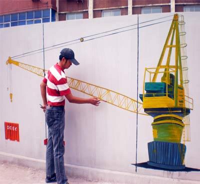 天津建筑公司墙体彩绘报价,户外墙体喷绘广告,公司文化墙彩绘,吊车墙画,墙面绘画,墙面彩绘,手绘墙价格-新闻中心->