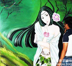 酒店墙体彩绘公司哪家好,墙绘价格优惠?墙体彩绘多少钱?天津墙体彩绘公司专业墙画,壁画价格,墙体绘画->