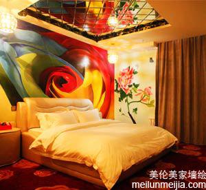 天津河北主题酒店墙体彩绘,宾馆手绘墙画,公司彩绘,墙面报价,手绘墙价格,墙绘多少钱一平米?哪家公司好->